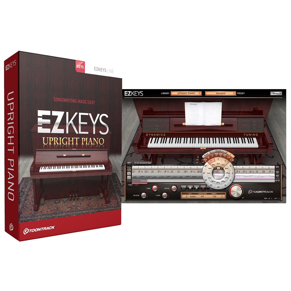 Toontrack EZkeys Upright Piano (Win MAC) | DAW Plugin