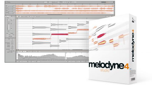 โปรแกรมปรับแก้เสียงร้อง Celemony Melodyne Studio 4