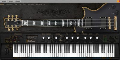 Ample Sound AME2 (Metal ESP Eclipse II)