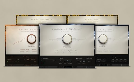 Native Instruments : Symphony Essentials (Kontakt)