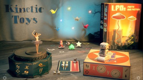 Native Instruments : Kinetic Toys (KONTAKT)