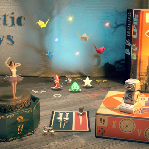 Native Instruments : Kinetic Toys (KONTAKT)