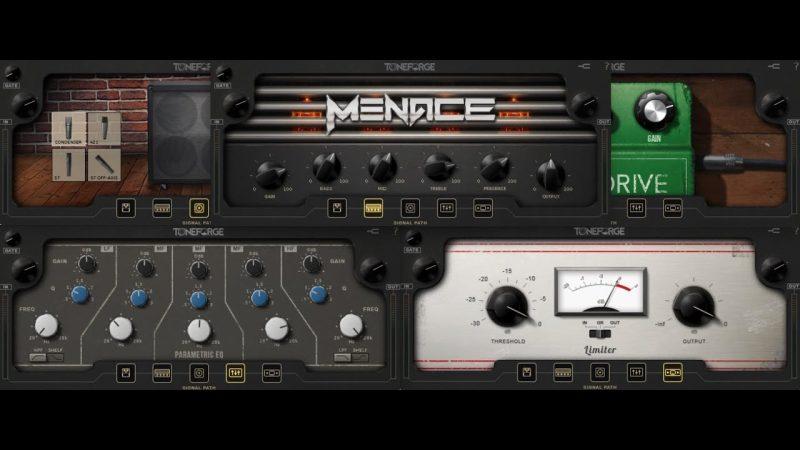 JST : Toneforge Menace v1.3 [WIN-OSX] จำหน่ายโปรแกรมแอมป์กีต้าร์ ราคาถูก