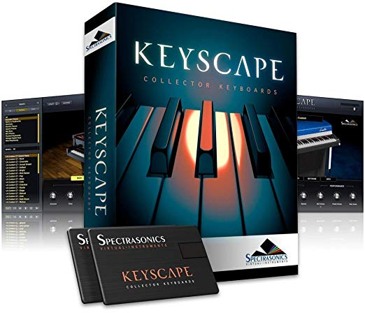 ขายโปรแกรม Spectrasonics Keyscape โปรแกรมเปียโน ราคาถูก